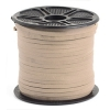 Leather Lacing Natural 3.5x2mm
